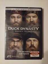 Duck Dynasty Season 2 Volume 1 The Beards are Back 2 Disc Collection DVDs New