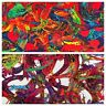 "Printed Artistic Abstract Lightweight Viscose dress fabric 58"" M779 Mtex"