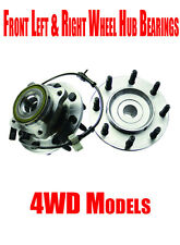 Front Wheel Hub Bearings for Hummer H2 Chevrolet Siverado Gmc Sierra Series 4WD