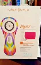 Clarisonic Mia 2 Oasis Sonic Cleansing System w/ Travel Bag RARE IKAT Print!