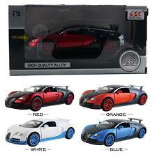 1PC 1:32 Bugatti Veyron DieCast Model Car Kid Pull Back Friction Vehicle Toy LED