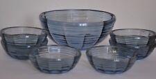 Czech Glass FRUIT/accordarsi servizio 1950s Piatti Ciotola e sei