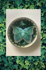 Enchanted+Wings+Butterfly+Plate+%22Emerald+Elegance%22+by+Oleg+Gavrilov