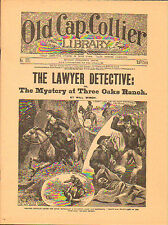 dime novel; OLD CAP COLLIER LIBRARY #379: The Lawyer Detective; or, The Mystery