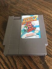 Super Mario Bros 2 Original Nintendo NES Fun Game Cart NE4