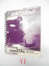 1999 Bombardier Ski Doo Grand Touring Formula III Mach Shop Service Manual