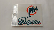 Miami Dolphins Static Cling Reusable Decal