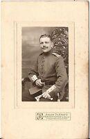 CAB photo Soldat Rgt. 180 - Friedrichsfeld 1900er
