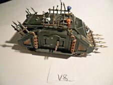 Warhammer 40k Chaos Space Marine Rogue Trader Rhino Lot V.8
