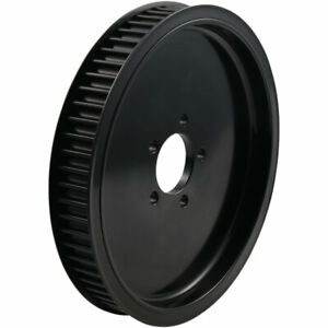 "BDL Solid Black 1.5"" Rear Belt Pulley - 65-Tooth -  1986-99 Harley Big Twin"
