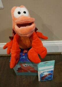 NEW Sebastian from Little Mermaid Scentsy Buddy w Pak DISNEY LIMITED Ed SOLD OUT