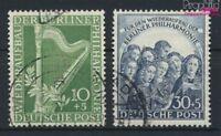 Berlin (West) 72-73 (kompl.Ausg.) gestempelt 1950 Philharmonie (9233290