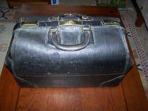 Antique Large Medical Doctor Bag