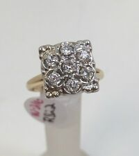 Lady's Vintage 14k Yellow Gold Diamond Engagement/Right Hand Ring w/Appraisal