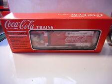 wagon  coca cola  mib noel x-mas car o gauge  , echelle O  1/43