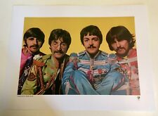 THE BEATLES / Exclusive Limited Edition 2017 Litho Print / Mint