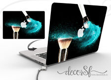 Make Up Motif Effet Wrap Skin Sticker pour MacBook Ordinateur Portable 13 Cover Decal