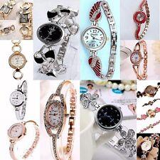 Ladies Women Small Dainty Dress Wrist watch selection Analog Quartz Steel Band