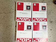 2015 GM Chevy Chevrolet CORVETTE Workshop Service Shop Repair Manual Set NEW OEM
