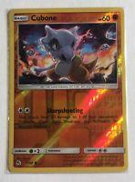 Pokemon TCG Card - Cubone 37/68 - Reverse Holo - NM