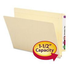 Smead 1 1/2 Inch Expansion Folders Straight End Tab Letter Manila 50/Box 24275