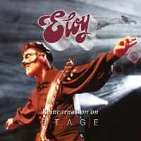ELOY - REINCARNATION ON STAGE (LIVE) 2 CD NEUF