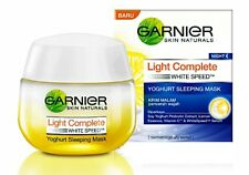 50 g Garnier Nignt Cream Yoghurt White Speed Light Complete Sleeping Mask