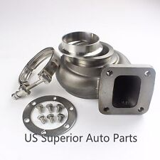 Exhaust housing  T4 .96 A/R P Trim Outlet 3'' V-band + Stainless Clamp Flange