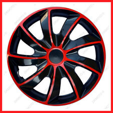 "15"" Wheel trims for DACIA SANDERO  Dacia Logan MCV  4x15'' - full set black/red"