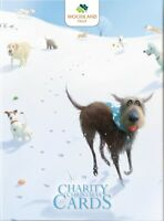 Box of 12 Toby Dog Woodland Trust Charity Christmas Cards Boxed