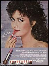 1983 Maybelline advertisement, Lipstick LYNDA CARTER, Wonder Woman