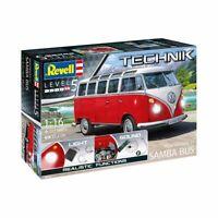 Revell Reve00455 Volkswagen T1 Samba Bus 1/16