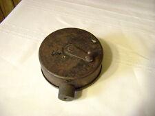 vintage chalk line metal canister