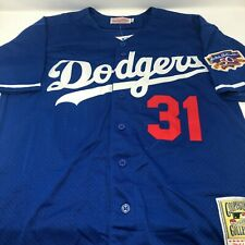 Mike Piazza Los Angeles Dodgers Replica Throwback Jersey Mens Size Large