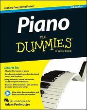 Piano for Dummies® by Consumer Dummies Staff, Adam Perlmutter and Hal Leonard...