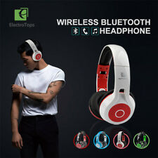 Wireless Headset Bluetooth Stereo Over Ear Headphones Earphone Sport For IPhone