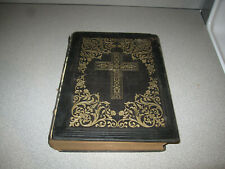 Holy Bible Published By D. & J. Sadlier & Co. New York 1862, Illustrated Scarce!