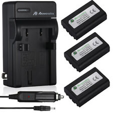 EN-EL1 Battery + Charger For Nikon Coolpix E880 885 4300 4500 4800 5400 5700