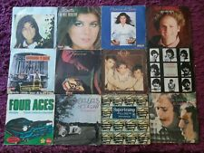 "Lote Música Pop/ Rock 36 x Vinyl 7"" Single Supertramp Jeanette Pop Tops E.L.O..."