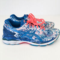 ASICS Womens Gel Kayano 23 Running Shoes New York 2016 NYC Marathon T6A7N Sz 9.5