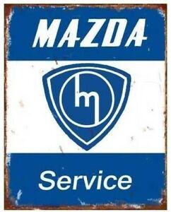 MAZDA ROTARY VINTAGE HUGE Flag..Classic car show, Man Cave, Garage, Shed