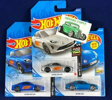Hot Wheels - Lot of 3 - ALPINE - 3 Variations - A110 & A110 Cup - C190
