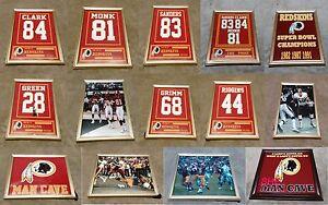 Washington Redskins Monk Posse Green Riggins Cousins Framed 8x10 Jersey Photo