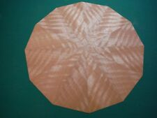 "~""Shimmerin' Timber Pie""~ Q/Fig. Nyatoh *Starburst* veneer kit, lot 822Bb"