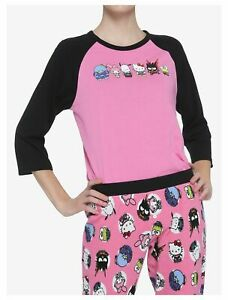 New My Hero Academia X Hello Kitty & Friends Thermal Sleep Set 2pcs PJ Small NWT