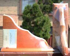 "█NEW█ Perfect Home Honey Stained Pine 7.75"" x 11"" Decorative Shelf Brackets"
