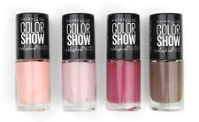 Maybelline Color Show 60 Seconds & The Blushed Nudes Nail Polish & Lacquer