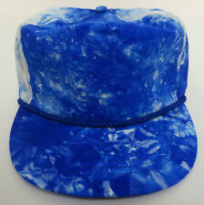 e9849178a16d0 DOZEN OTTO CAP VINTAGE HAT RETRO CREW WASH STRING NYLON ZIPBACK ADJUSTABLE  ROYAL