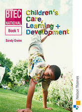 National Children's Care, Learning & Development: Book 1 (Bk. 1) by Green, Sand