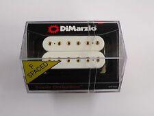 DiMarzio F-SPACED Super Distortion Bridge Humbucker White W/Gold Poles DP 100